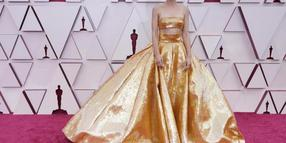 Ganz in Gold: Carey Mulligan.