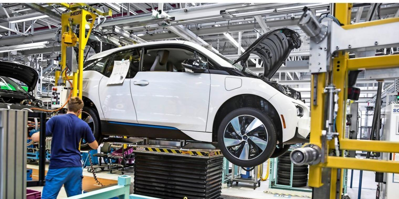 BMW-i3-Produktion in Leipzig.