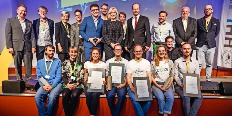 Die Gewinner des EY Public Value Awards 2018.