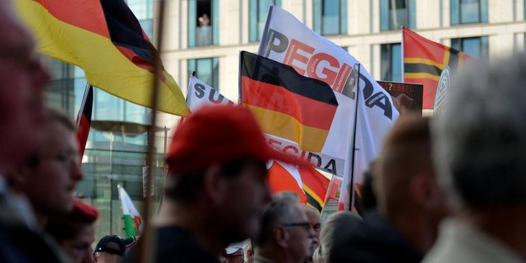 Pegida-Demonstration in Dresden (Archivbild)
