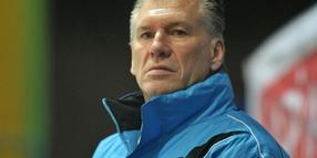 Icefighters-Coach Manfred Wolf.