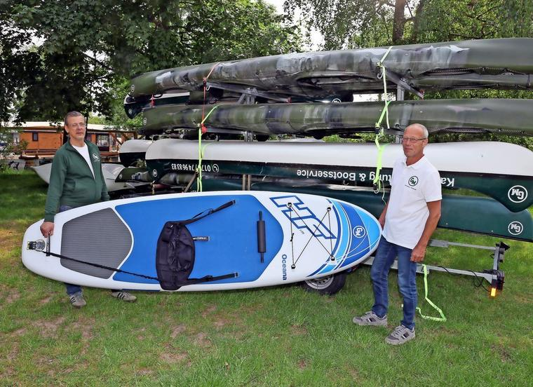 Das neue Stand-Up-Paddle-Board