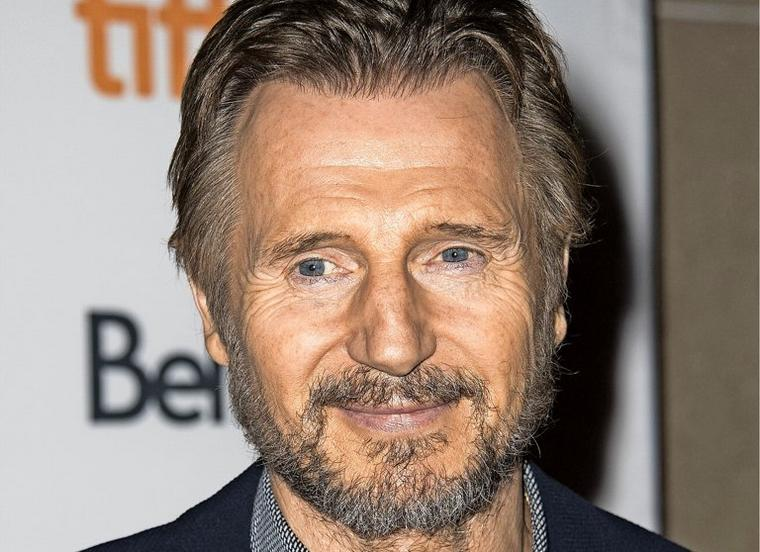 """Liam Neeson attends a premiere for """"Mark Felt: The Man Who Brought Down The White House"""" on day 5 of the Toronto International Film Festival at the Ryerson Theatre on Monday, Sept. 11, 2017, in Toronto. (Photo by Arthur Mola/Invision/AP)"""