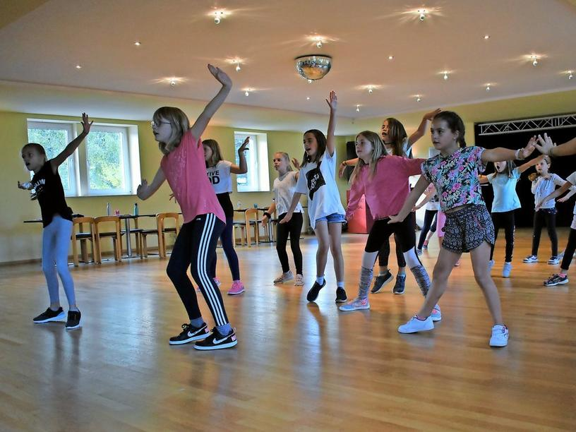 Einblicke ins Training der Hip-Hop-Kids.