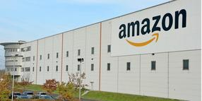 Das Amazon-Logistikzentrum in Brieselang.