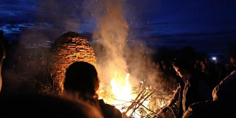 Osterfeuer 2017.