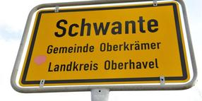 Problem in Schwante.