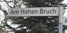 Unfall in Hohenbruch.