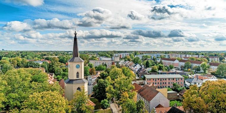 Die St. Andreaskirche in Teltow.