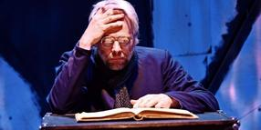 Andreas Hueck in der Rolle des Faust.