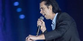 Nick Cave am Sonntag in Berlin.