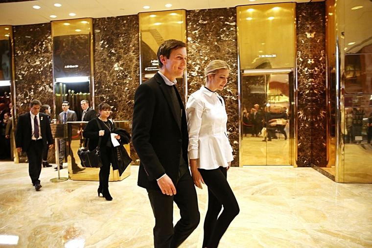 "Das ""Power Couple"" im Trump-Tower"