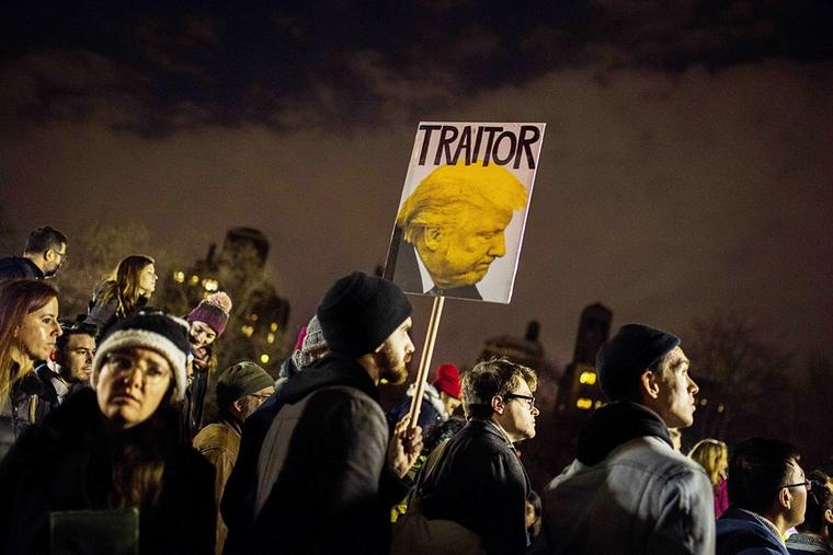 Proteste in New York