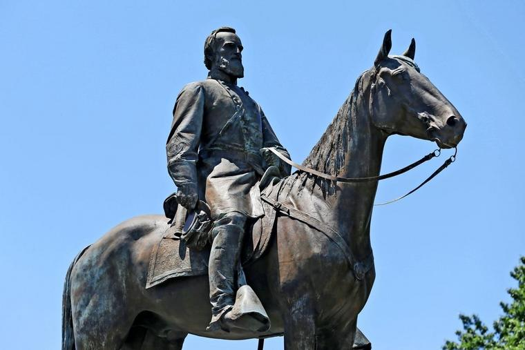 "General Thomas ""Stonewall"" Jackson in Richmond (Virginia)"