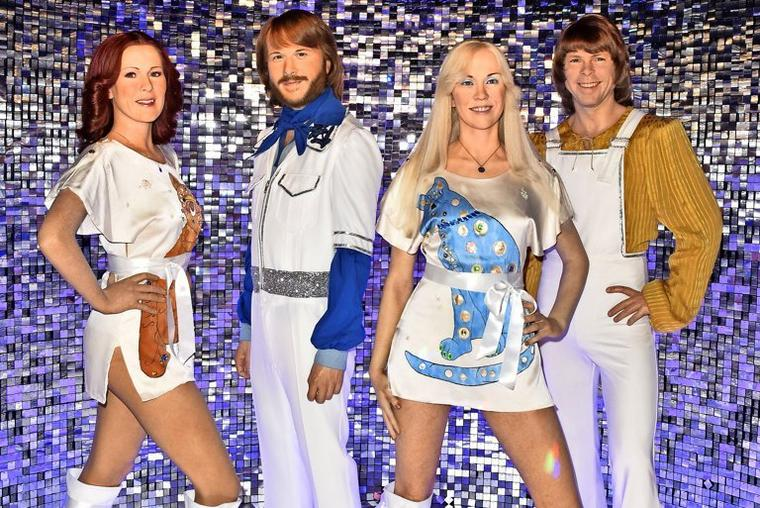 Abba-Wachsfiguren bei Madame Tussauds in Berlin