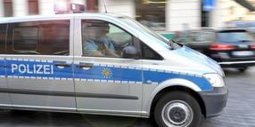 Polizeieinsatz in Leipzig