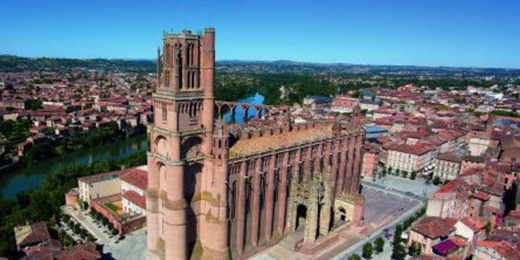 Die Kathedrale in Albi.