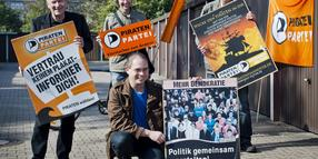 Foto: Die Piraten in Hannover