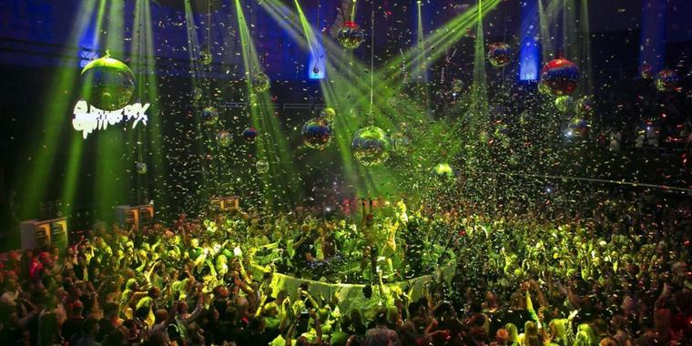 Glitterbox-Party im HCC-Kuppelsaal in Hannover.