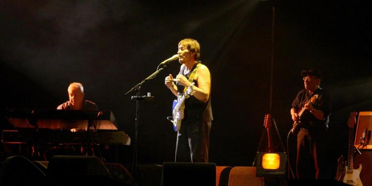 "Chris Rea machte Donnerstag in Hannover Station bei seiner ""Still so far to go""-Tour."