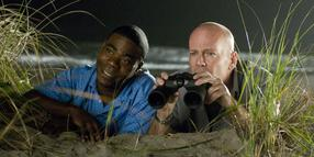 Auf der Lauer: Tracy Morgan (links) und Bruce Willis.