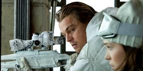 "Leonardo DiCaprio und Ellen Page in ""Inception""."
