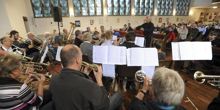 Latino-Brass in der St.-Thomas-Kirche in Hannover