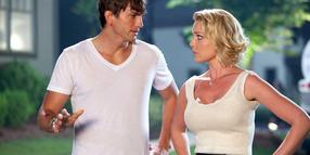 "Ashton Kutcher und Katherine Heigl in ""Kiss & Kill""."