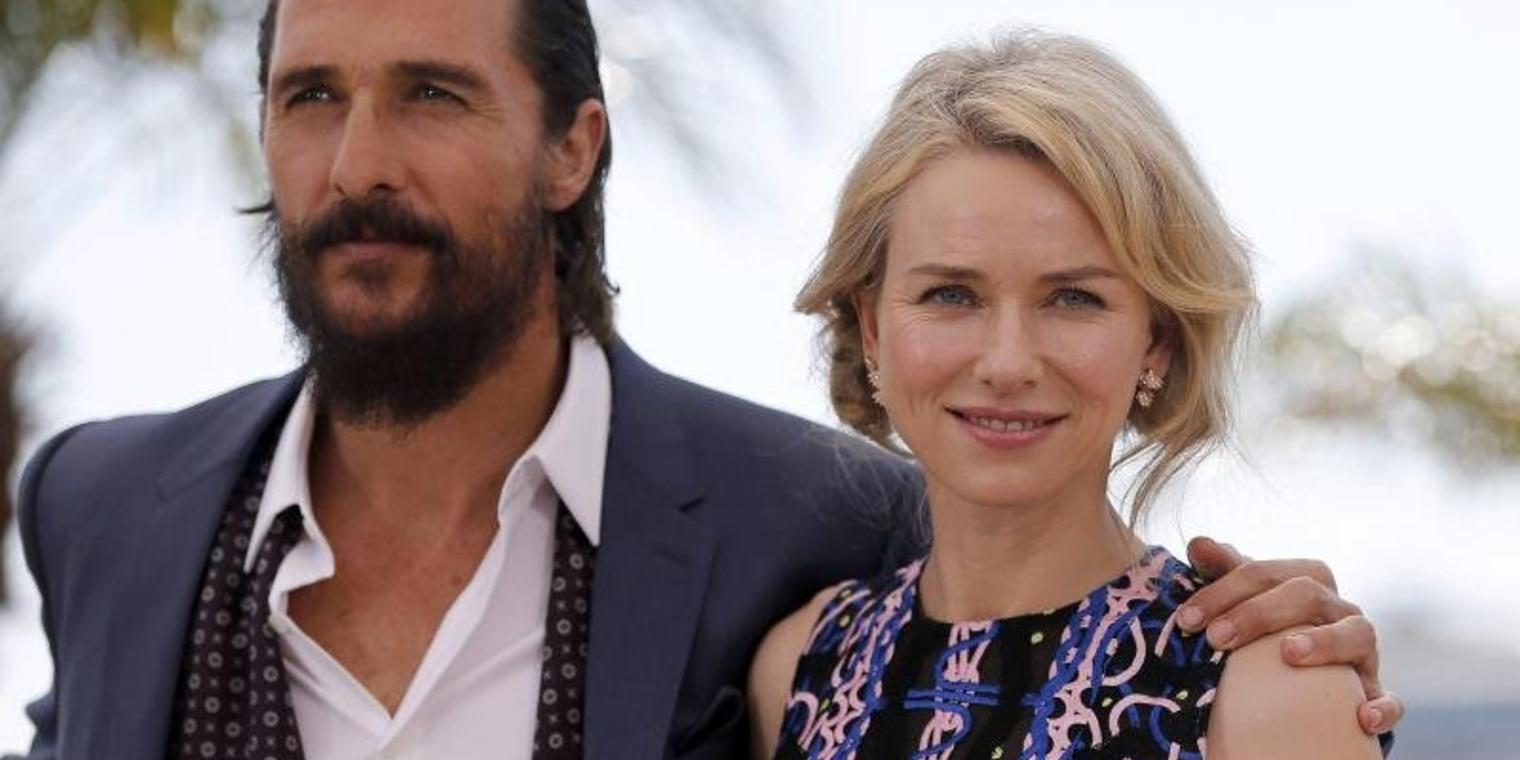 Naomi Watts und Matthew McConaughey in Cannes.