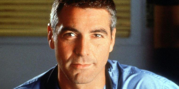 """Ein letztes Mal """"Dr. Ross"""": George Clooney."""