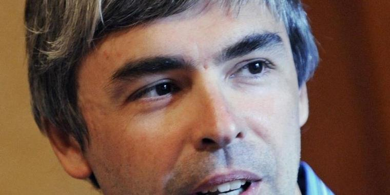 Google-Chef Larry Page.