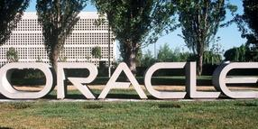 Firmensitz des  US-Software-Unternehmens Oracle in Redwood City, Kalifornien.