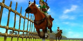 "Foto: Screenshot aus dem Nintendo 3DS-Spiel ""The Legend of Zelda: Ocarina of Time"""