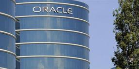 Die Zentrale von Oracle in Redwood Shores, Kalifornien.