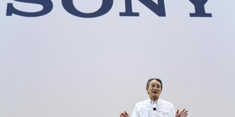 Sony-CEO Kazuo Hirai am 01. September auf der IFA in Berlin.
