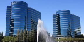 Der Hauptsitz des Software-Unternehmens Oracle in Redwood Shores in Kalifornien, USA.