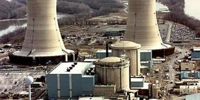 Bild des Atomkraftwerks Three Miles in Pennsylvania.