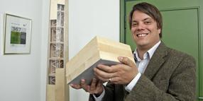 Die Firma Timber Tower will Windkrafttürme aus Holz bauen.