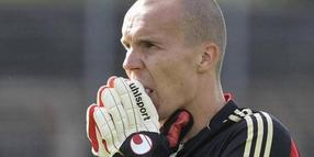 96-Torwart und Nationalkeeper Robert Enke.