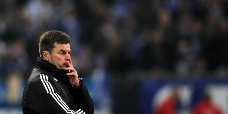 Nürnbergs Trainer Dieter Hecking