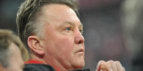 Trainer Louis van Gaal.