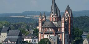 Der Dom in Limburg.