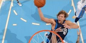 Mavericks-Star Dirk Nowitzki.
