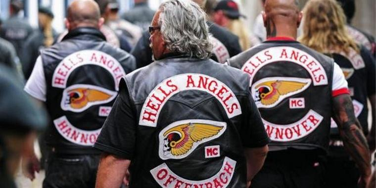"Rocker der ""Hells Angels"""
