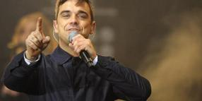 Popstar Robbie Williams