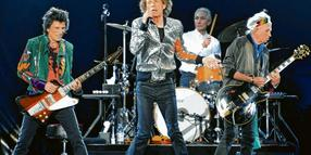 Die Rolling Stones im September 2017 in Hamburg: Ron Wood (70), Mick Jagger (74), Charlie Watts (76) und Keith Richards (74, v.l.).