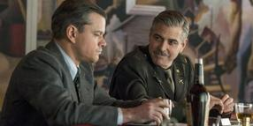 Matt Damon und George Clooney in «Monuments Men». Foto: Twentieth Century Fox