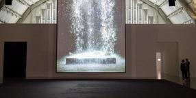 Bill Viola, Tristan's Ascension, 2005.