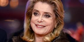 Catherine Deneuve 2017 in Berlin.