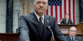 """Kevin Spacey als US-Präsident Underwood in der TV-Serie """"House of Cards""""."""